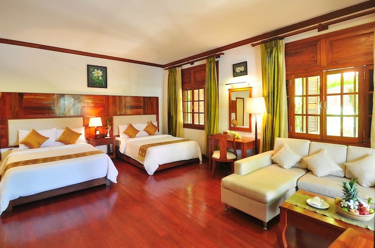 Deluxe Twin Garden Villa with Balcony - Picture 2
